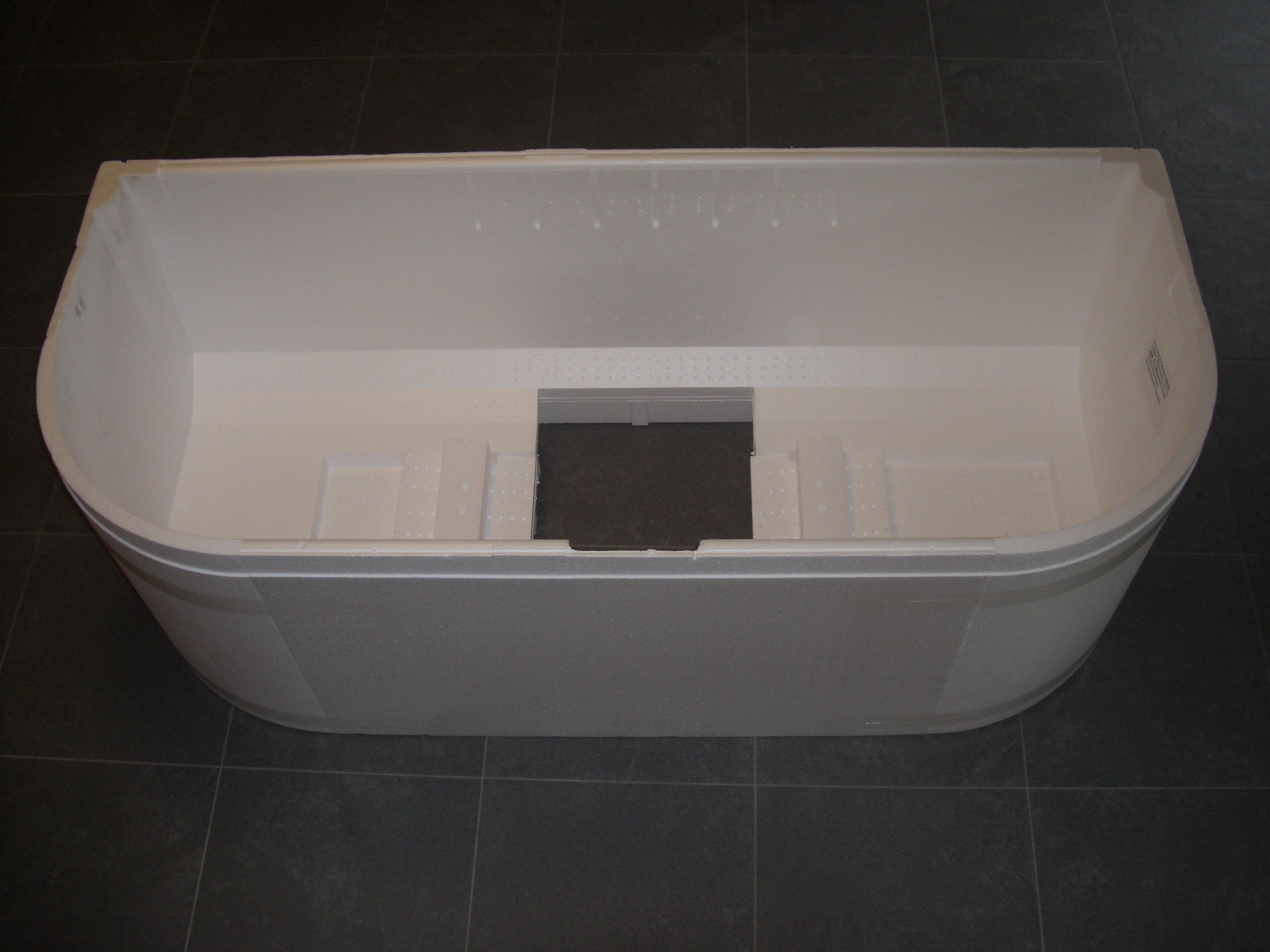 poresta styroportr ger wannentr ger 180x80cm f r kaldewei. Black Bedroom Furniture Sets. Home Design Ideas