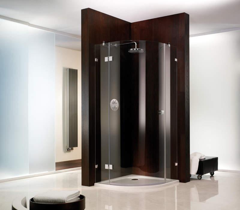 hsk atelier viertelkreis duschkabine dreh r 3 teilig runddusche 80x80cm 1753080550 bernd. Black Bedroom Furniture Sets. Home Design Ideas