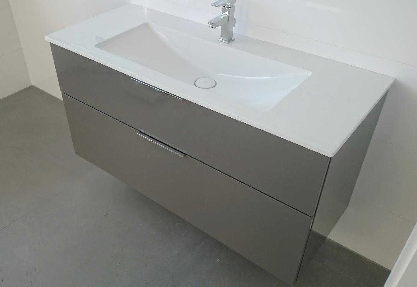 Bilder Zu Burgbad Eqio Mineralguss Waschtisch Mit Unterschrank 122cm