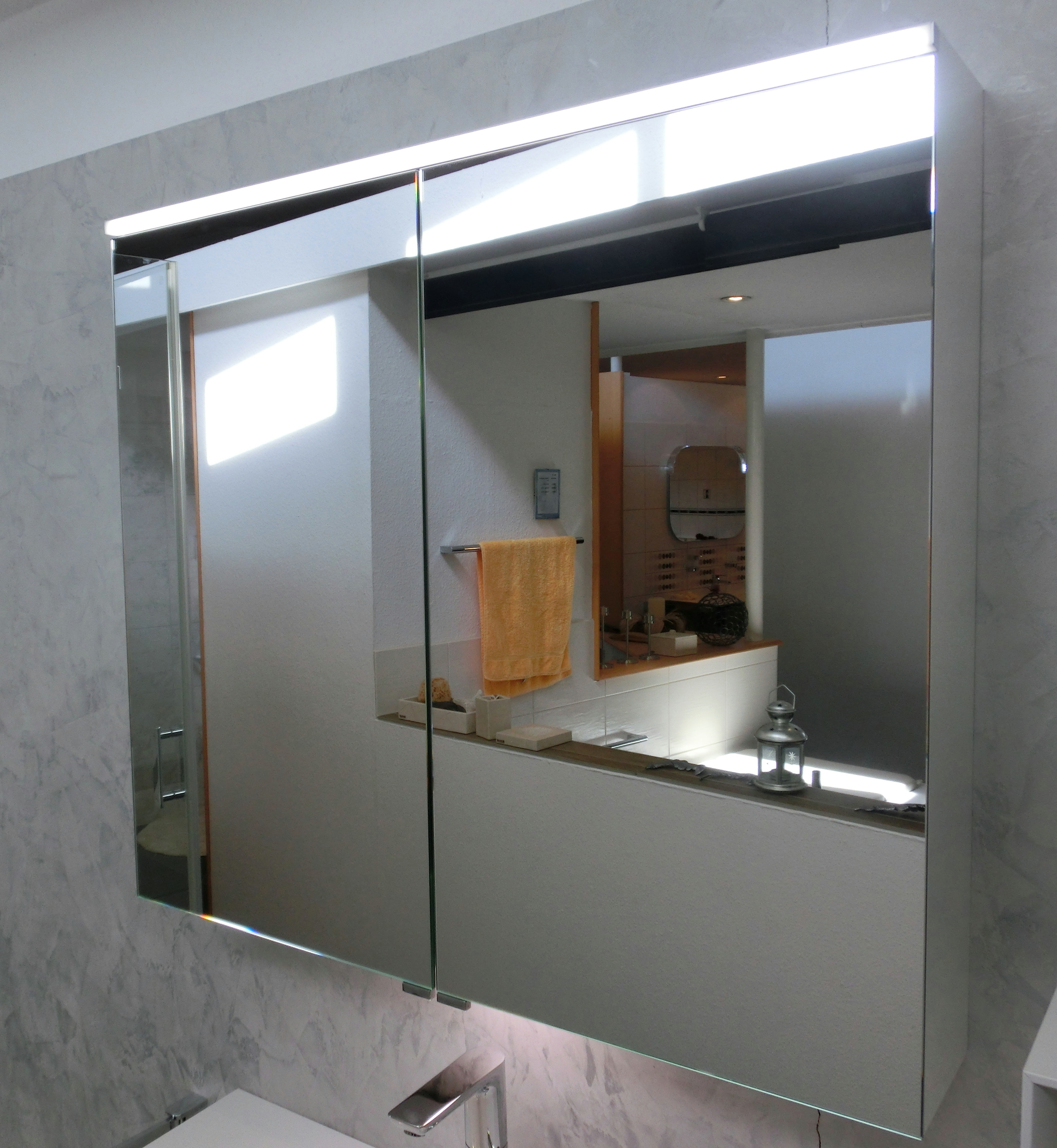 burgbad-eqio-spiegelschrank-mit-led-beleuchtung-90cm-weiss-glaenzend-spgs090f2009-47628_37858 Spannende Spiegelschrank Mit Led Beleuchtung Dekorationen