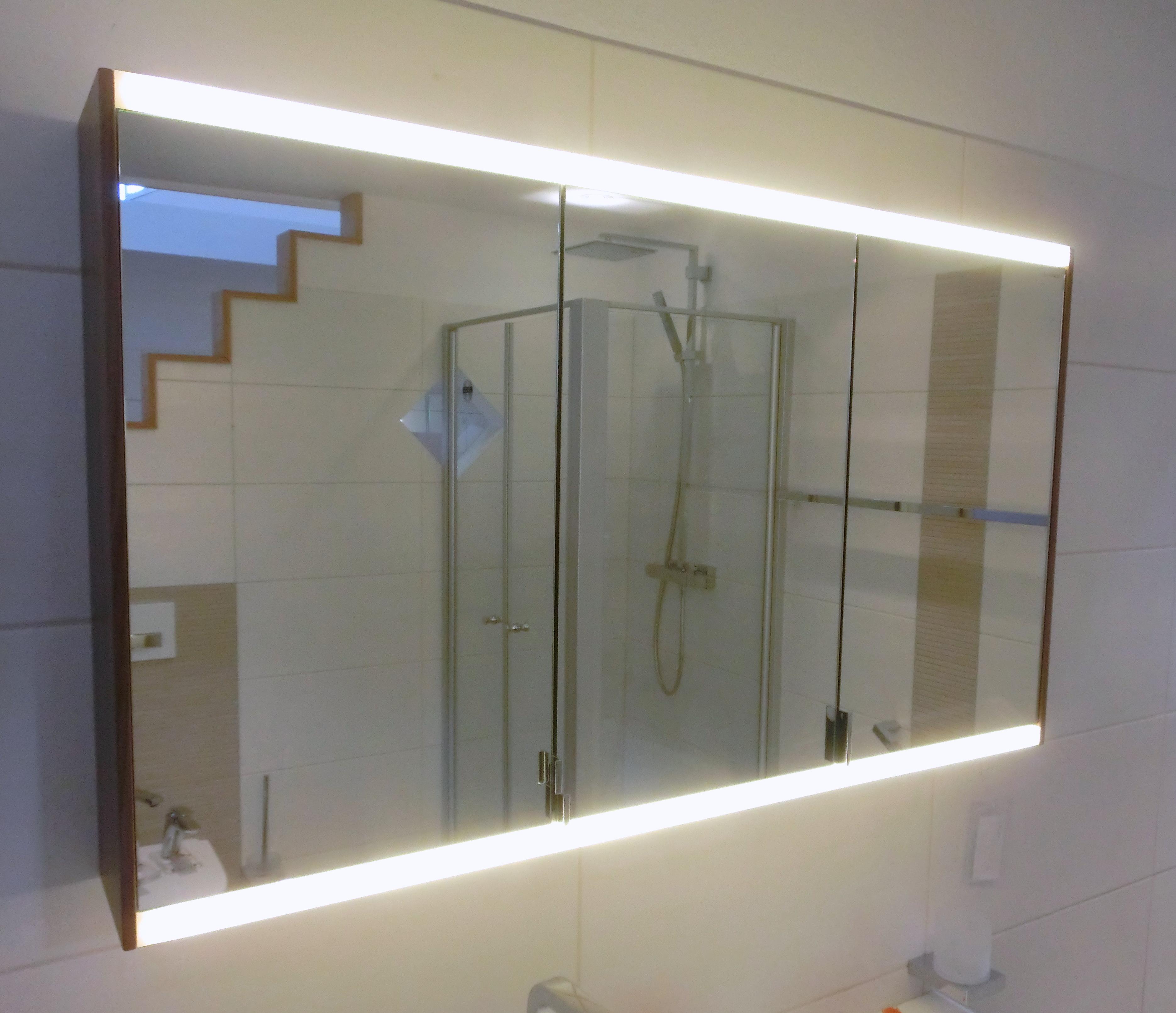 Bilder zu Burgbad Yso Spiegelschrank 112cm mit LED-Beleuchtung ...