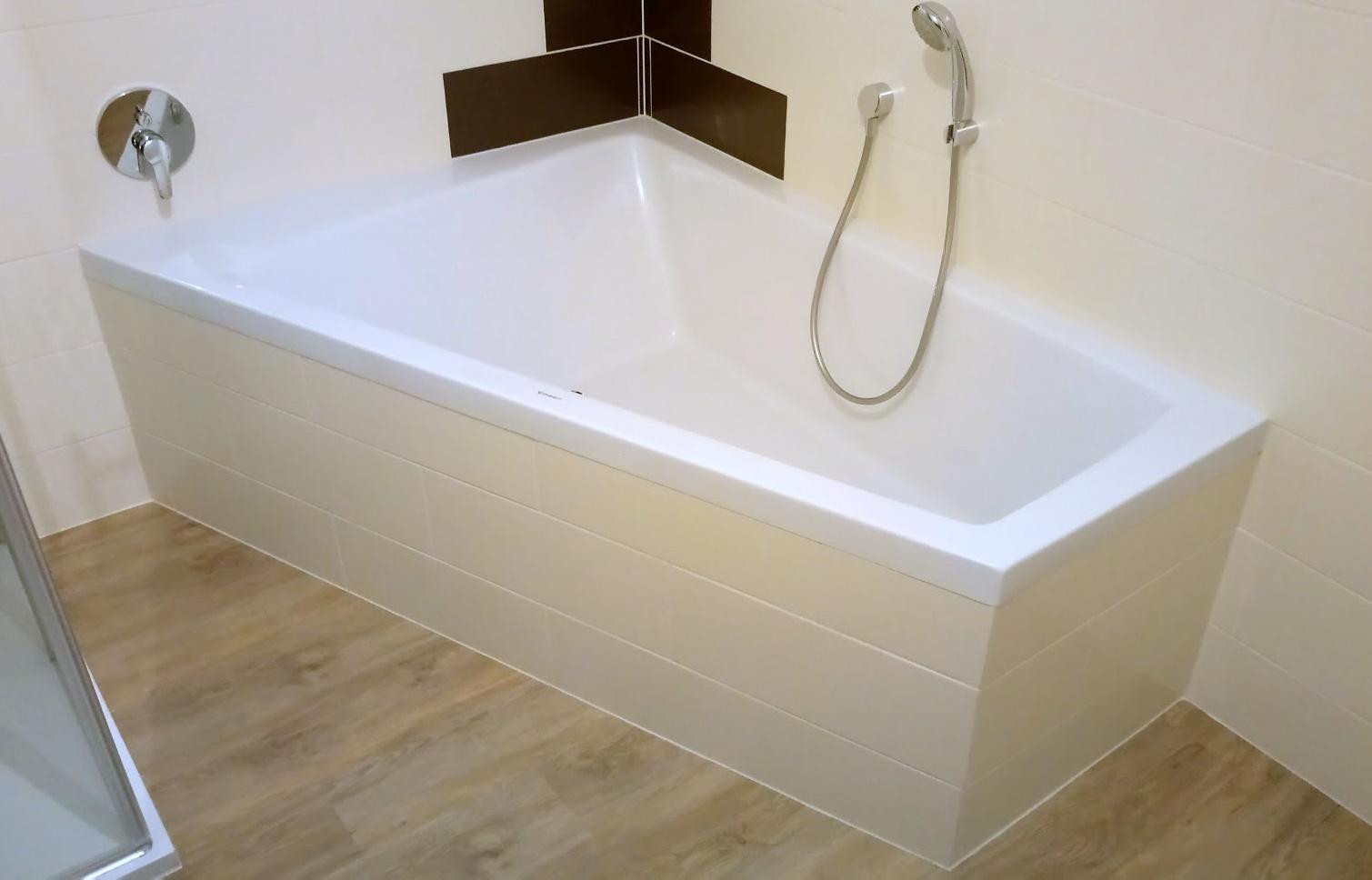 bilder zu duravit paiova badewanne 170x130cm, ecke links, zum