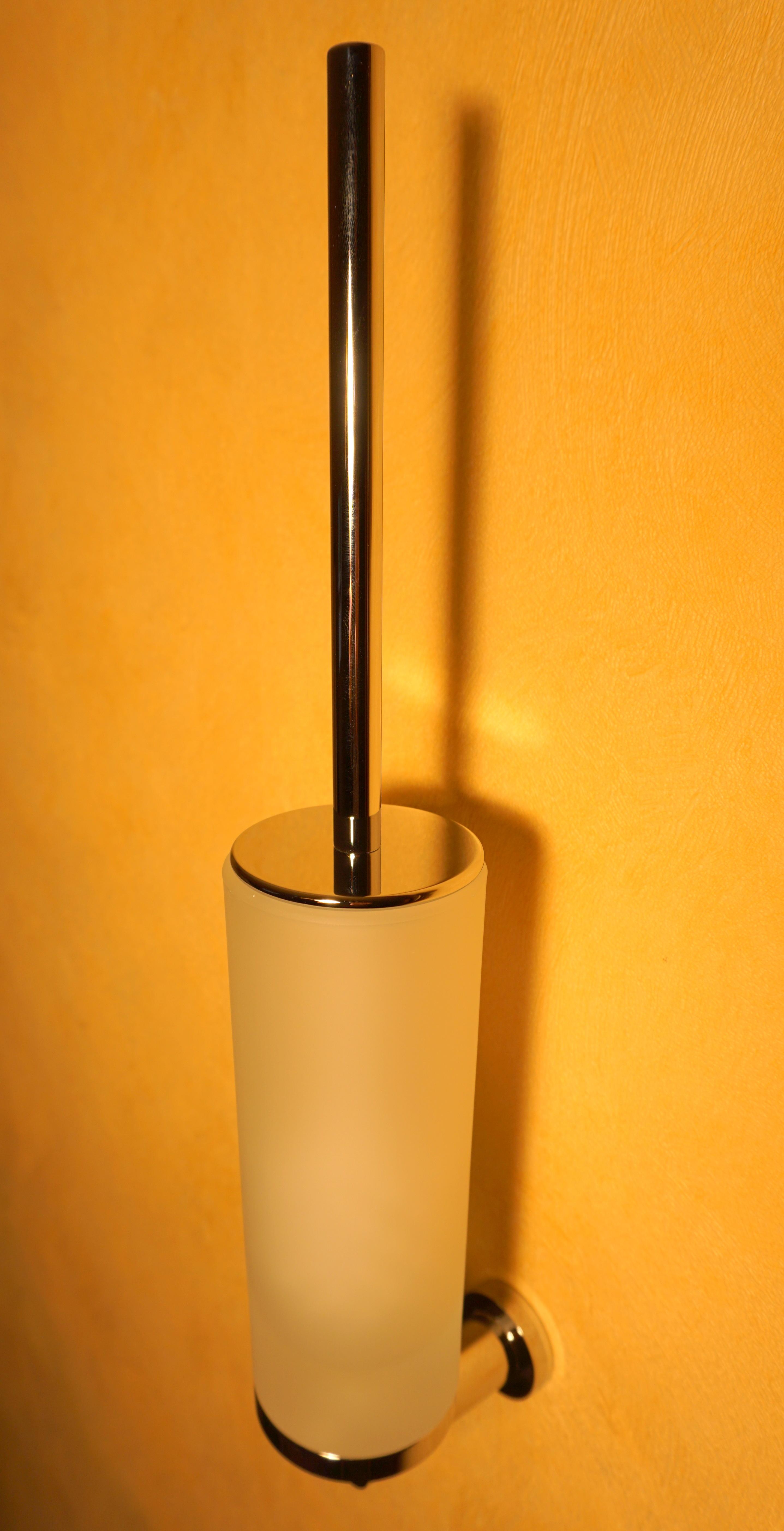 Gessi Emporio Toilettenbürstengarnitur chrom WC Bürste