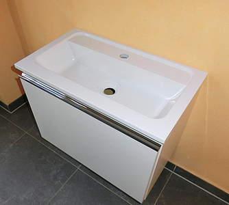 BurgBad Burgbad Bel Waschtischunterschrank mit Waschtisch, B: 61cm ...