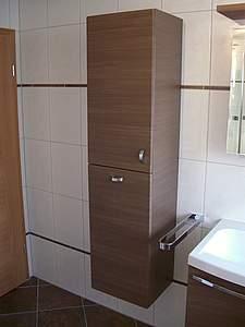 burgbad sinea hochschrank mit w schekippe schilf. Black Bedroom Furniture Sets. Home Design Ideas