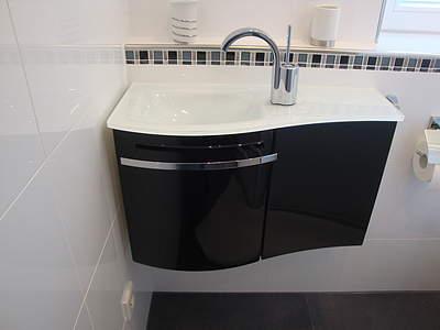 Waschbecken mit unterschrank rund  Waschtisch Für Gäste Wc Mit Unterschrank: f?r jedes bad die ...