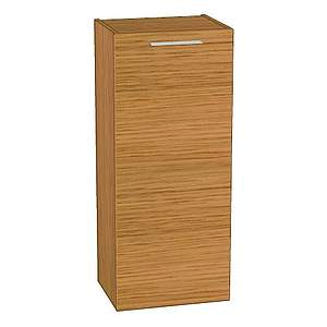 burgbad crono halbhoher schrank linksanschlag bambus natur seun040lf1811 bernd block. Black Bedroom Furniture Sets. Home Design Ideas
