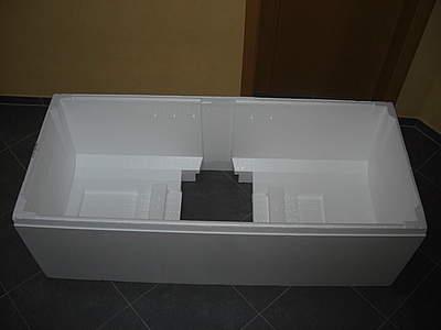 poresta styroportr ger wannentr ger 190x90cm f r kaldewei conoduo bernd block haustechnik. Black Bedroom Furniture Sets. Home Design Ideas