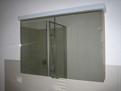 burgbad essento spiegelschrank 3 t rig mit led beleuchtung waschtischbeleuchtung 124cm breit. Black Bedroom Furniture Sets. Home Design Ideas