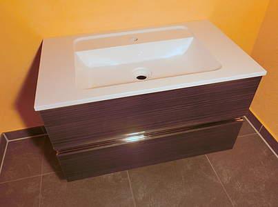 suchergebnis f r 39 burgbad essento waschbecken mit. Black Bedroom Furniture Sets. Home Design Ideas