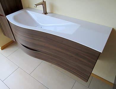 burgbad sinea 2 0 waschtisch mit waschtischunterschrank 121cm lichtgrau matt sffq121lf2797. Black Bedroom Furniture Sets. Home Design Ideas