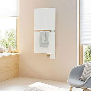 kermi signo designheizk rper 540x1827mm ral 9016. Black Bedroom Furniture Sets. Home Design Ideas