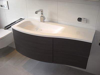 Burgbad Sinea 1 0 Waschbecken Mit Unterschrank 121cm Version Links