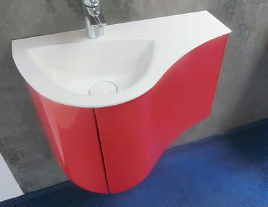 Burgbad Sinea 2 0 Waschtisch Mit Unterschrank Für Gästebad Weiß