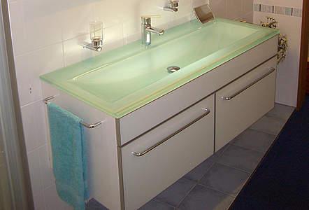 Kategorie waschtische bernd block haustechnik for Glaswaschtisch mit unterschrank