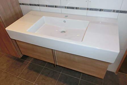 duravit vero waschtischunterbau wandh ngend 100cm wei. Black Bedroom Furniture Sets. Home Design Ideas