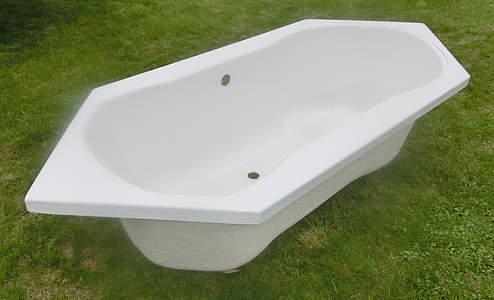 Galatea sun sechseck badewanne 1880x785x445mm wei 6 eck for Badewannen hersteller liste