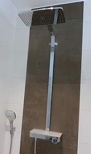 HansGrohe Raindance Select E 360 1jet ST Showerpipe chrom; 27288000