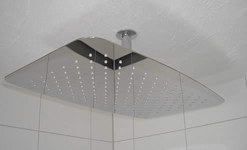 hsk softcube regenbrause kopfbrause 500x350mm superflach. Black Bedroom Furniture Sets. Home Design Ideas