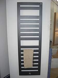 Zehnder Metropolitan Badheizkörper rein elektrisch, 1225x500mm, RAL ...