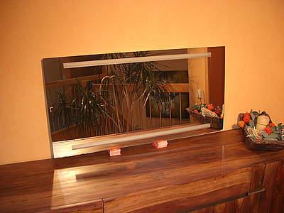 Zierath como led spiegel 100x80cm lichtspiegel zcomo0301100080 bernd block haustechnik - Badspiegel led hinterleuchtet ...