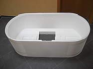 suchergebnis f r 39 oval badewanne duravit starck 1900 x 900mm freistehend mit sch rze 39 bernd. Black Bedroom Furniture Sets. Home Design Ideas