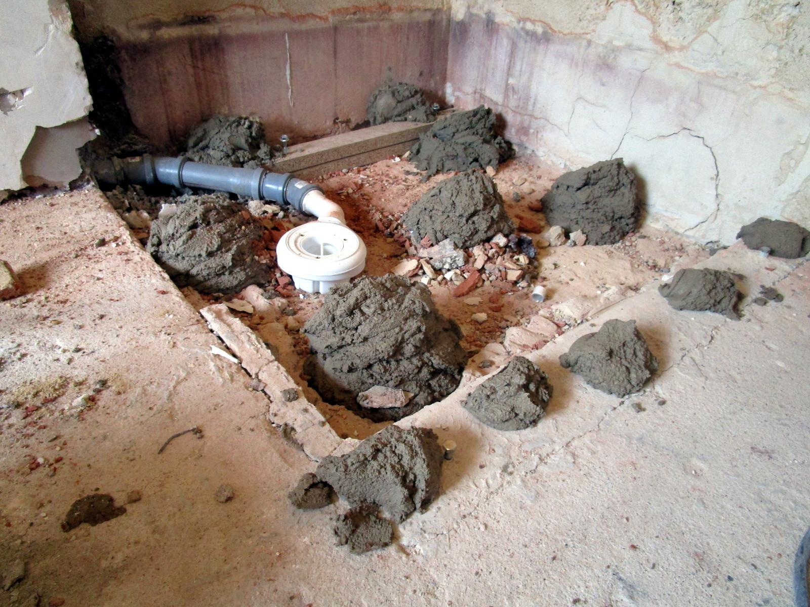 mineralguss-duschwanne montieren - bernd block | haustechnik