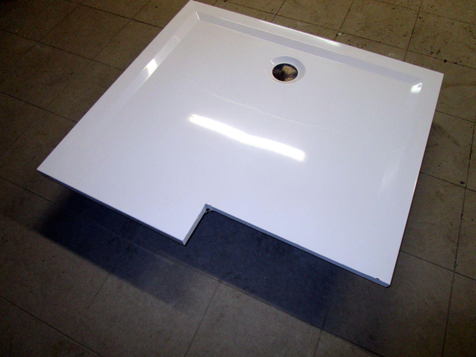 hoesch duschwanne in nische einpassen bernd block haustechnik. Black Bedroom Furniture Sets. Home Design Ideas