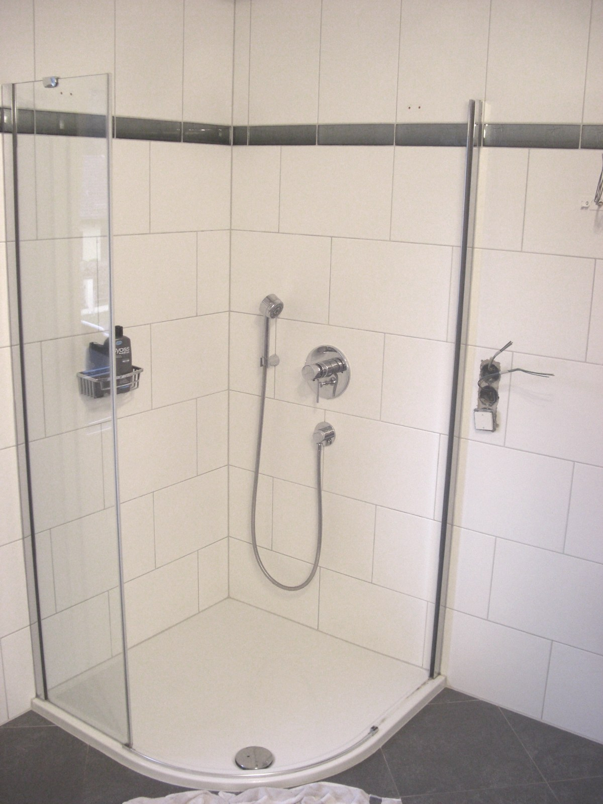 barrierefreie dusche bernd block haustechnik. Black Bedroom Furniture Sets. Home Design Ideas